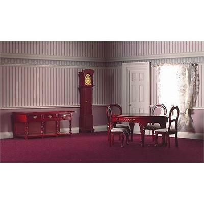 7 Piece Traditional Dining Room Set by Dolls House Emporium