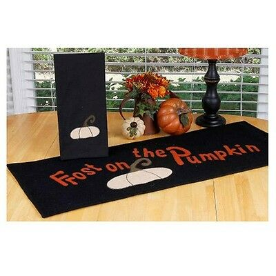 """Home Collection by Raghu Frost on the Pumpkin Table Runnerl, 14"""" x 36"""" New"""