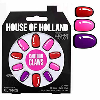 House Of Holland Nails By Elegant Touch - CARTOON CLAWS  >> NEW