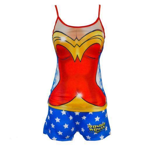 Wonder Woman Pajamas: Sleepwear & Robes | eBay