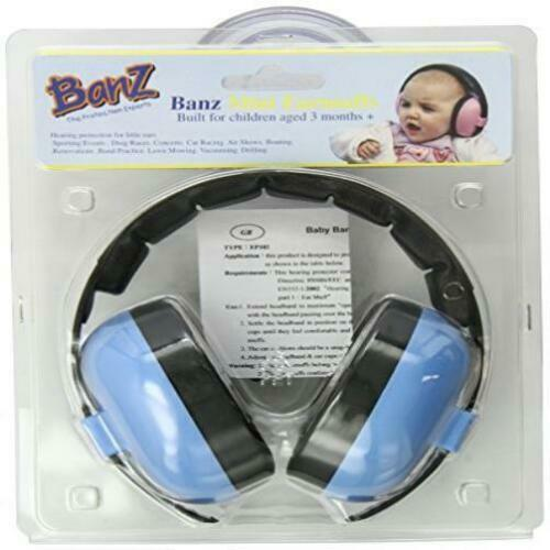Baby Banz Earmuffs Baby Blue 3 Months and Up