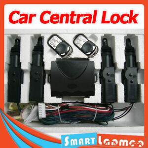 Car Central Lock Keyless Entry Remote Auto Control Locking System Universal Kit