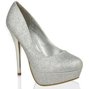 Silver Prom Shoes 9e35dec15896