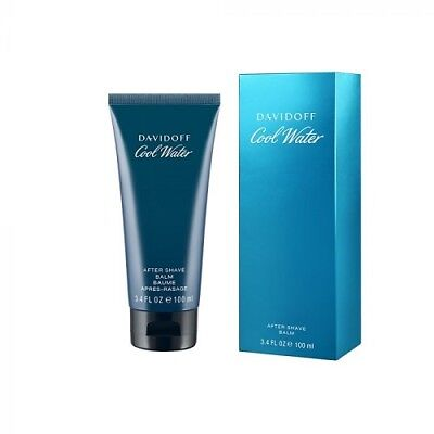 DAVIDOFF COOL WATER 100ML AFTERSHAVE BALM BRAND NEW & BOXED