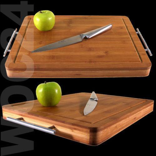 schneidbrett bambus schneidebretter ebay. Black Bedroom Furniture Sets. Home Design Ideas