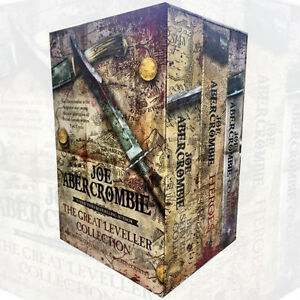 Great Leveller Collection Slipcase 3 Books Set By Joe Abercrombie,The Heroes,New