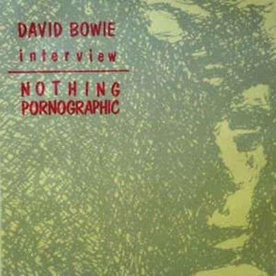 "David Bowie, Nothing Pornographic - Interview, NEW/MINT jukebox 7"" vinyl single"