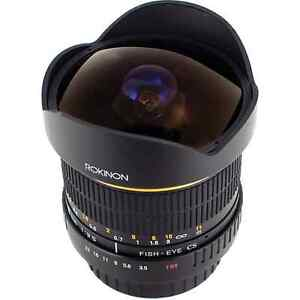 Rokinon 8mm Ultra Wide Angle f/3.5 Fisheye Lens for Pentax K Mount