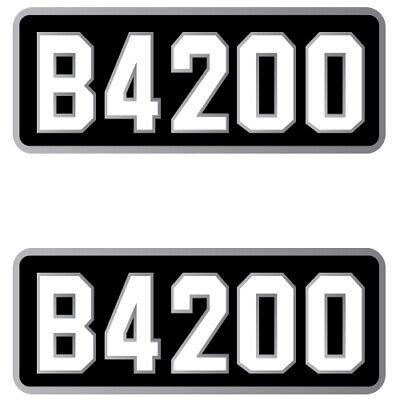Kubota B4200 Decals Backhoe Tractor Decal Kit B 4200