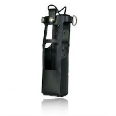 Boston Leather Radio Holder For Motorola Apx7000 W Extended Battery