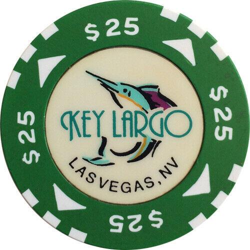 $25 KEY LARGO LAS VEGAS CASINO CHIP