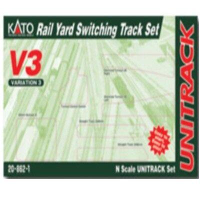 Kato 20-862-1 N Scale V3 Rail Yard Switching Set