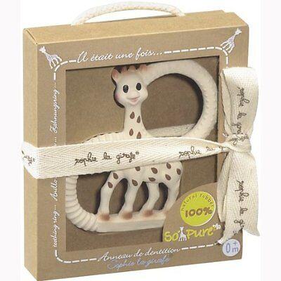 Sophie la Girafe Beißring So'Pure Vulli in Geschenkverpackung NEU & OVP