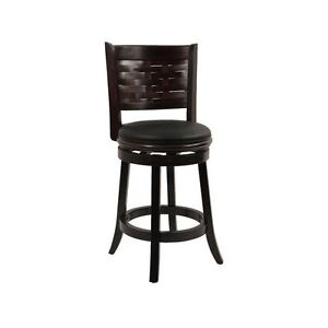 Swivel Bar Stools With Back 24 Inch Chair Leather