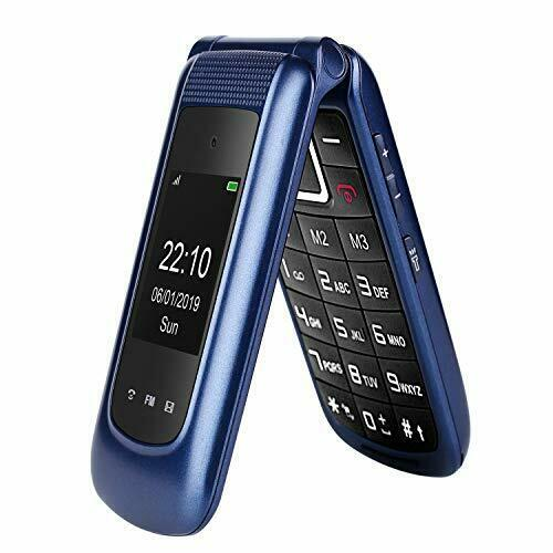 Big+Button+Mobile+Phone+for+Elderly%2C+Dual+Sim+Free+Flip+Phone+Unlocked%2CBasic