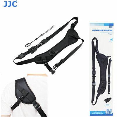 JJC NSPRO1M Quick Release Sling Neck Strap Adjustable DSLR SLR Mirrorless Camera