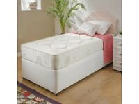Single orthopaedic bed complete with headboard