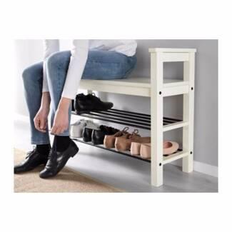 IKEA Bench with shoe storage