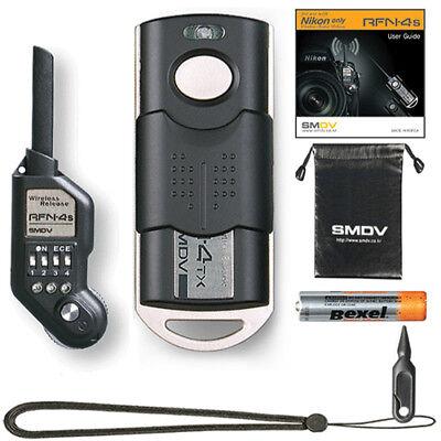 SMDV RFN-4s Wireless Shutter Release Remote for Nikon Professional DSLR SLR Body