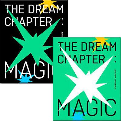 TXT THE DREAM CHAPTER:MAGIC 1st Album RANDOM CD+Photo Book+Pad+Card+Sticker+etc
