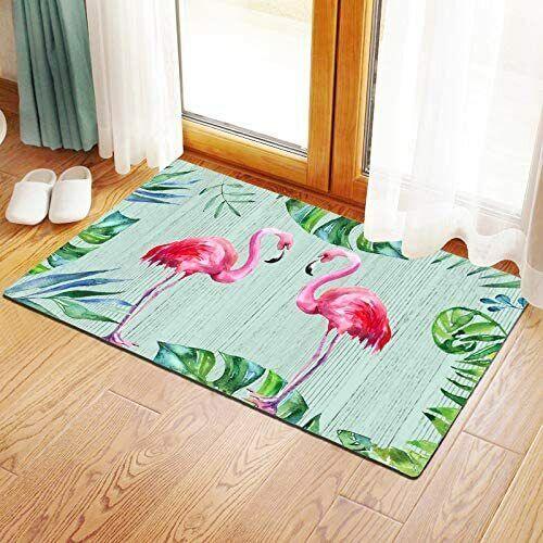 Rubber Welcome Door Mat, Decorative Indoor Outdoor Doormat Non Slip Door Mat - $21.95