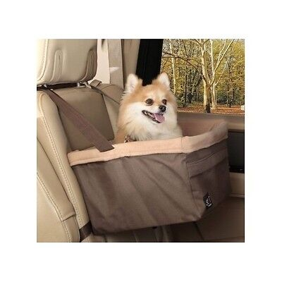 Dog Car Seat Booster Medium Auto Travel Lookout Carrier Safety Leash Basket Pet