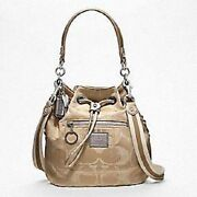 Coach Poppy Signature Sateen