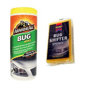 Armorall bug tar tree sap stubborn stain remover wipes tub bug shifter