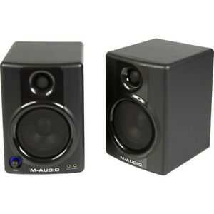 M-Audio AV 30 Active Desktop Monitor Speakers trade