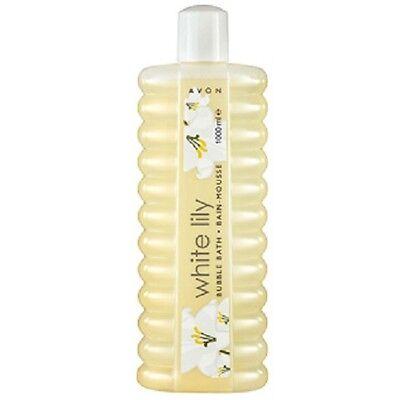 (3,99€/1L)Avon Bubble Bath Schaumbad Weiße Lilie  1000 ml