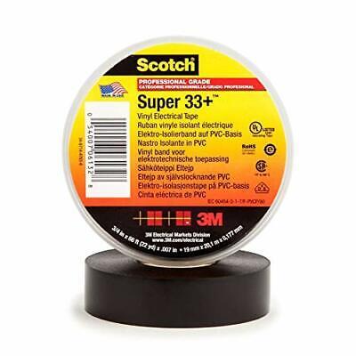 Scotch Super 33 Vinyl Electrical Tape 6132-ba-10 34 In X 66 Ft X 0.007 In