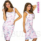 Knee Length Floral Dresses for Women with Pencil Skirt