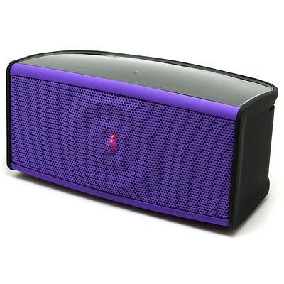 Ripple Bluetooth Speaker 2 front speakers subwoofer & microphone - Purple