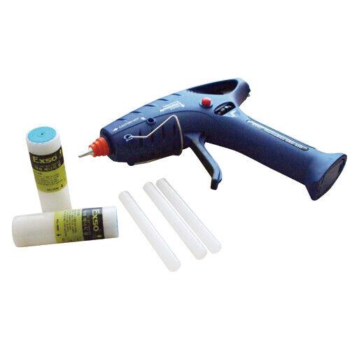 EXSO GRG-620 Cordless Butane Powered Portable Hot Melt Glue Gun Gas-Filled Type