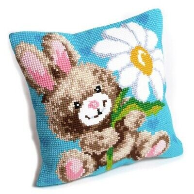 Collection D'art Cross Stitch Mr Jeannot Cushion 5.111 £16.99
