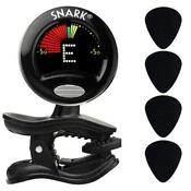 Electric Guitar Tuner Clip On