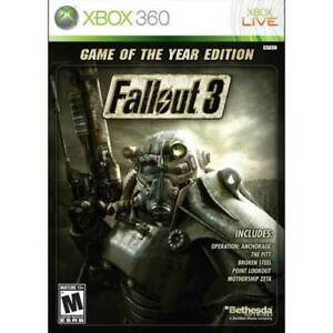 Looking For Fallout 3 Game Of The Year Edition For Xbox 360