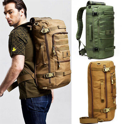 Military Tactical Rucksack Backpack Camping Hiking Outdoor shoulder Schoolbag