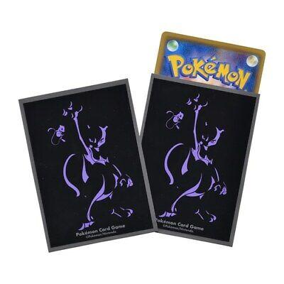 Pokemon Card Deck Shield 64 Sleeve Mewtwo ver.3 silhouette Japanese