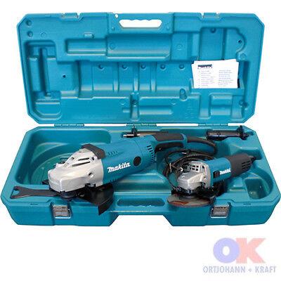 Makita DK0052G Winkelschleiferset (GA9020R u. 9558NBR im Koffer) ehem. MEU049
