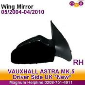 Drivers Side Wing Mirror Vauxhall Astra