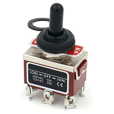 Baomain Momentary Toggle Switch Dpdt On-off-on 3 Position 6 Screw Terminal