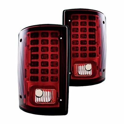 MONACO DYNASTY 2006 2007 2008 RED LED TAILLIGHTS TAIL LAMPS RV - SET