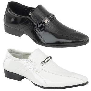 Mens White Smart Shoes