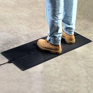 Large Feet Foot Warming Floor Mat Heated Pad Waterproof