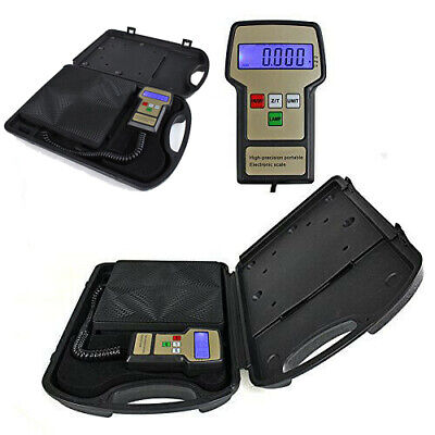 100kg Portable Digital Electronic Refrigerant Scale Charging Weight Hvac Scale