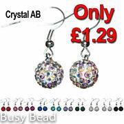AB Crystal Drop Earrings