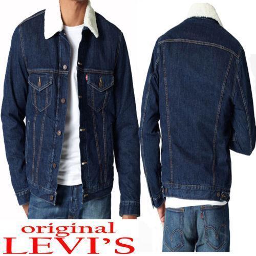 1bd8b9fb3251 Sherpa Denim Jacket   eBay