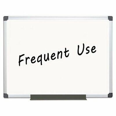 Mastervision Magnetic Dry Erase Board 36 X 48 Aluminum Frame Bvcma0507170