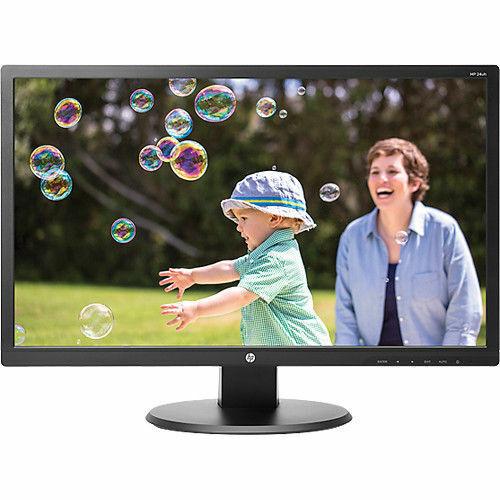 HP 24UH LED Backlit Monitor 1920x1080 5ms 250nit HDMI DVI VGA | K5A38AA